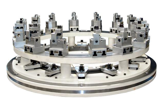 Sondervorrichtung für Triebwerksteile (Variante)