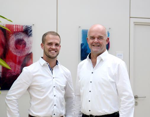 Geschäftsführer Bernd Schätzle und Johann Ott